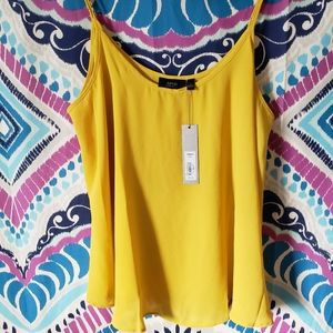 Apt 9 Yellow Tank Blouse